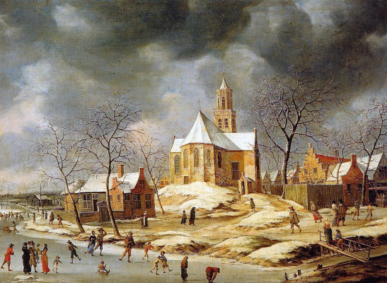Йоханнес ван Беерстратен. Деревня в Мидлуме