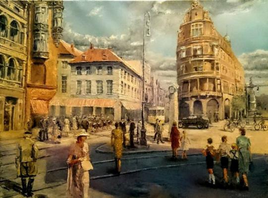 Evgeny Vladimirovich Terentyev. Koenigsberg. Munzplatz
