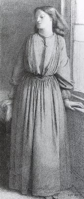 Данте Габриэль Россетти. Женщина у окна