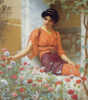 Джон Уильям Годвард. Летние цветы