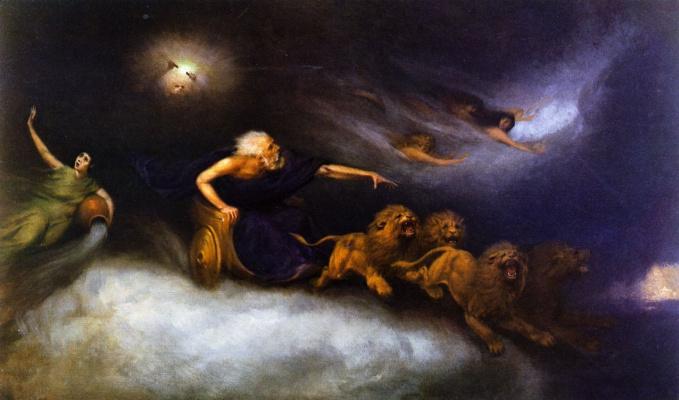 William Holbrook Byrd. Spirit Storm