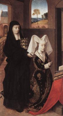 Petrus Christus. Isabella and the Portuguese Holy Erzebet