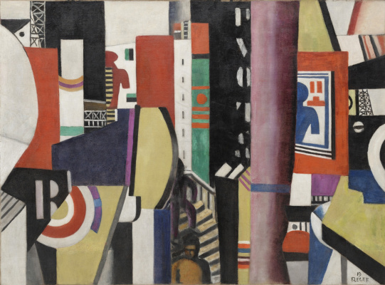 Fernand Leger. The city