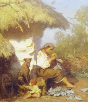 Генрих Ипполитович Семирадский. Сельская идиллия