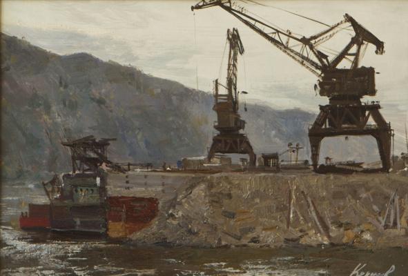 Heliy Mikhailovich Korzhev. Quarry