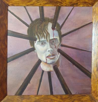 Alik Khazgaleev. Memory (Portrait of Bone, 1991)