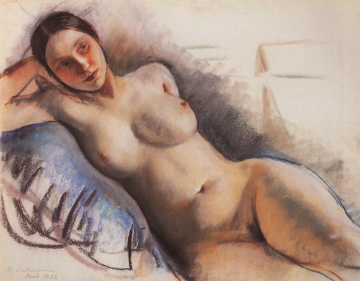 Zinaida Serebryakova. Nude
