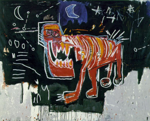 Jean-Michel Basquiat. Dog
