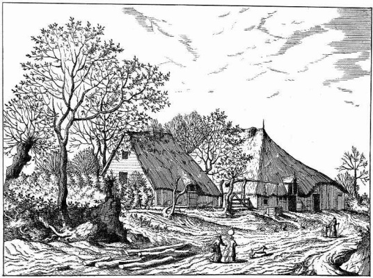 "Pieter Bruegel The Elder. The series ""Small landscapes"". Landscape No. 15"