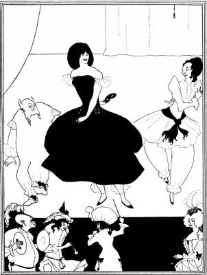 Aubrey Beardsley. The Marionette Ballet
