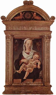Козимо Тура. Мария с младенцем