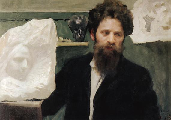 Boris Mikhailovich Kustodiev. Portrait of the sculptor N. L.Aronson