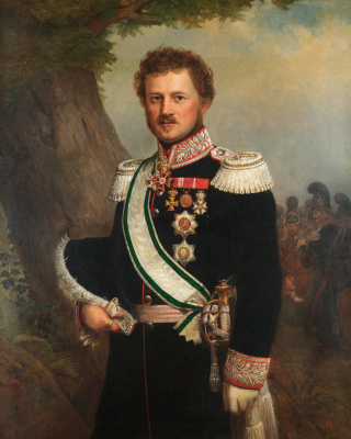 Franz Xaver Winterhalter. Emil, Prince of Hesse and the Rhine