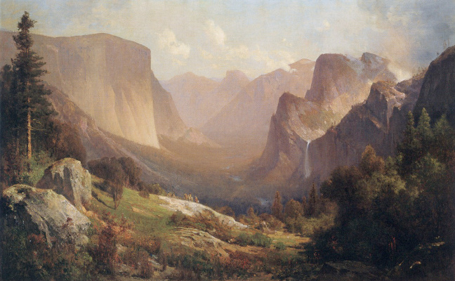 Thomas Hill. Yosemite