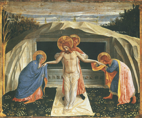 Fra Beato Angelico. Position in the coffin. About 1438-1440