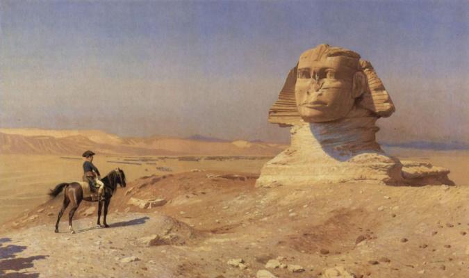 Jean-Leon Jerome. Sphinx