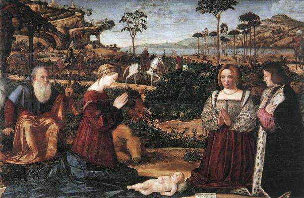 Vittore Carpaccio. Holy family