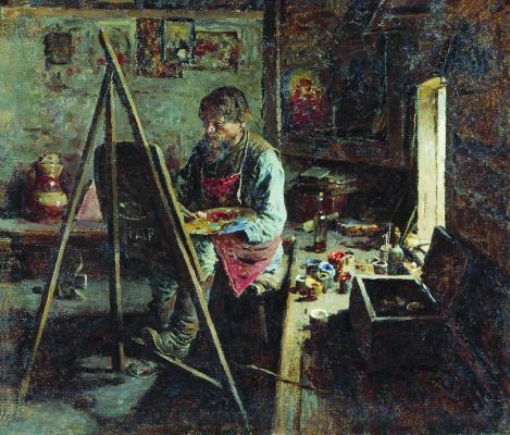 Abram Arkhipov. Rustic painter