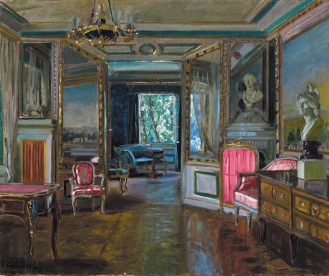 Stanislav Yulianovich Zhukovsky. The private apartments of Nicholas II in the Lazienki Palace Warsaw
