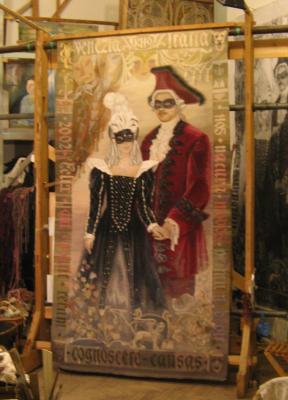 Natalia Vasilyevna Pershina-Kalliopina. Masquerade
