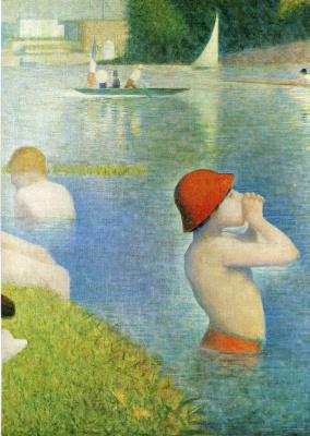 Georges Seurat. Bathing