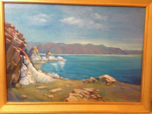 Mher Manukovich Abegyan. Lake SEVAN