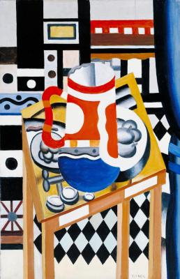Fernand Leger. Still life with a beer mug