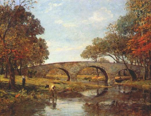 Теодор Робинсон. Старый мост