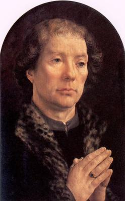 Ян Госсарт. Молящийся
