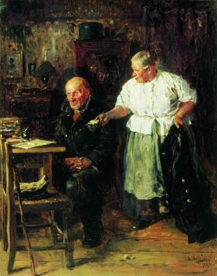 Владимир Егорович Маковский. Выговор