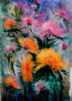 Irel Shulzhenko. Chrysanthemums