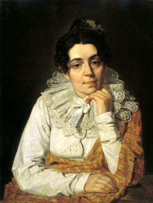 Alexey Gavrilovich Venetsianov. Portrait Of Venetsianova