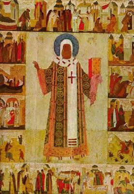 Icon Painting. Metropolitan Peter