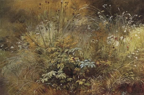 Ivan Ivanovich Shishkin. Weed