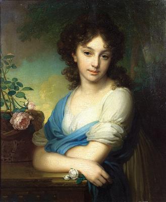 Vladimir Lukich Borovikovsky. Portrait Of Elena Alexandrovna Naryshkina