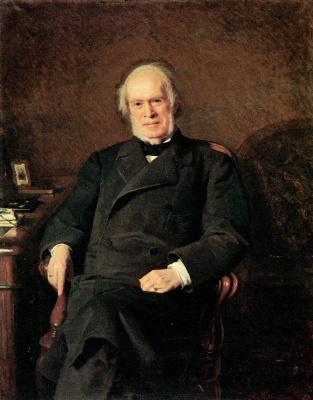 Ivan Nikolayevich Kramskoy. Portrait Of Yakov Ivanovich Golubev