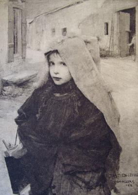 Жюль Бастьен-Лепаж. По дороге в школу