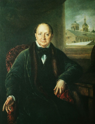 Vasily Andreevich Tropinin. Portrait of councillor of state Mikhail Fedorovich Protasova