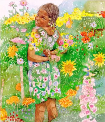 Джерри Пинкни. Собирая цветы