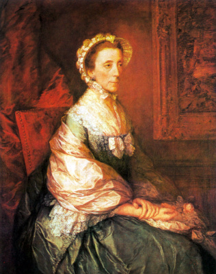 Thomas Gainsborough. Mary, Duchess of Montagu
