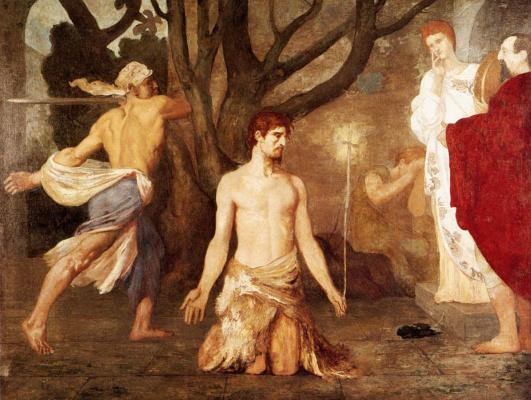 Пьер Сесиль Пюви де Шаванн. Усекновения главы Иоанна Крестителя