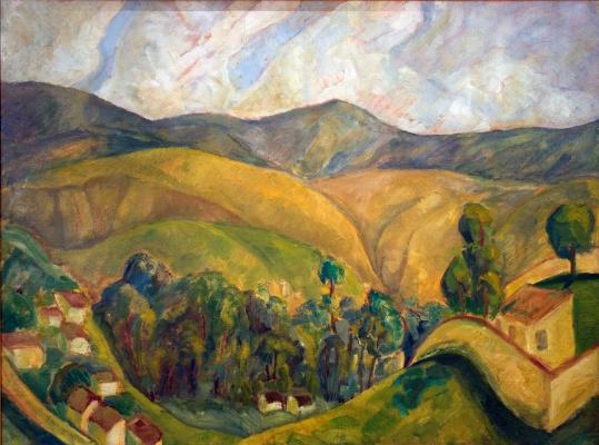 Диего Мария Ривера. Пейзаж