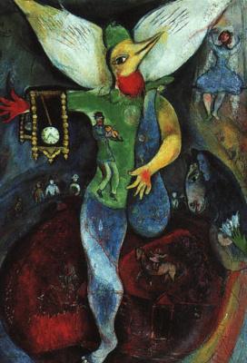 Marc Chagall. Juggler
