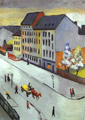 August Macke. Street