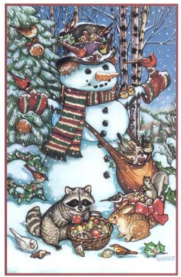 Льюис Джонсон. Лесной Снеговик