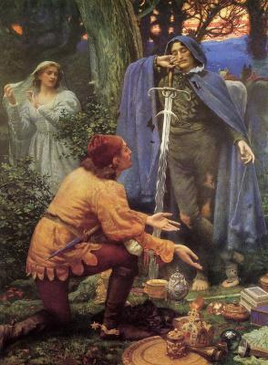 Edward Robert Hughes. The Bride, Bertuccio