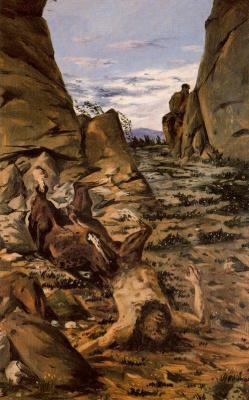 Джорджо де Кирико. Скалы