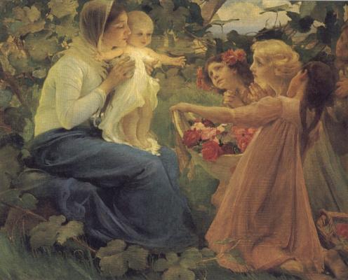 Франц Дворжак. Цветы младенцу
