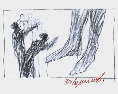 Владимир Сергеевич Лукьянов. Из цикла «Метаморфозы» (05)