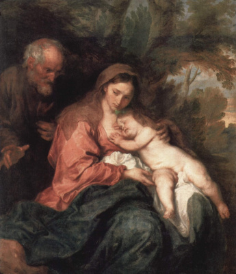 Rest on the flight into Egypt